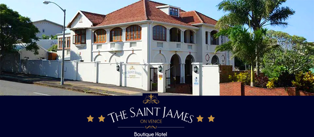 THE SAINT JAMES ON VENICE LUXURY BOUTIQUE HOTEL, MORNINGSIDE